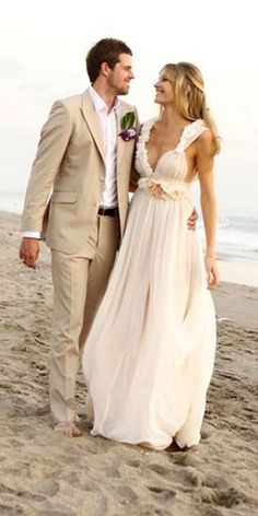 Latest Coat Pant Designs Champagne Wedding Suit For Men Custom Suits Causal Beach Loose Groom Tuxedo