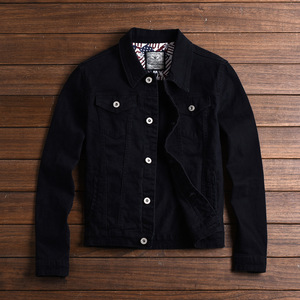 Image 2 - Fashion Mens Denim Jackets Slim Fit Spring Autumn Jeans Jacket Pink Red Turn Down Collar Outwear Size M 3XL