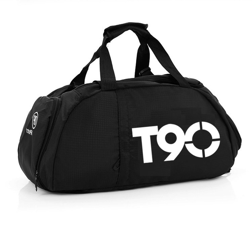 Bags Backpacks Travel-Bag Fitness-Training Gym-Bag Sports-Shoes Waterproof Women T90