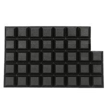 Maytir 40pcs Self-Adhesive Feet Pad Rubber Bumper Stop Non-slip Feet Door Buffer Pad Furniture Leg Hardware