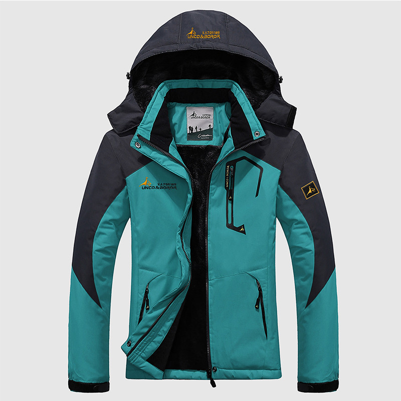 2019 Winter Jacket Women Thick Warm   Parkas   Thermal Windbreaker Velvet Hooded Coats Waterproof Windproof Tourism Jackets Female