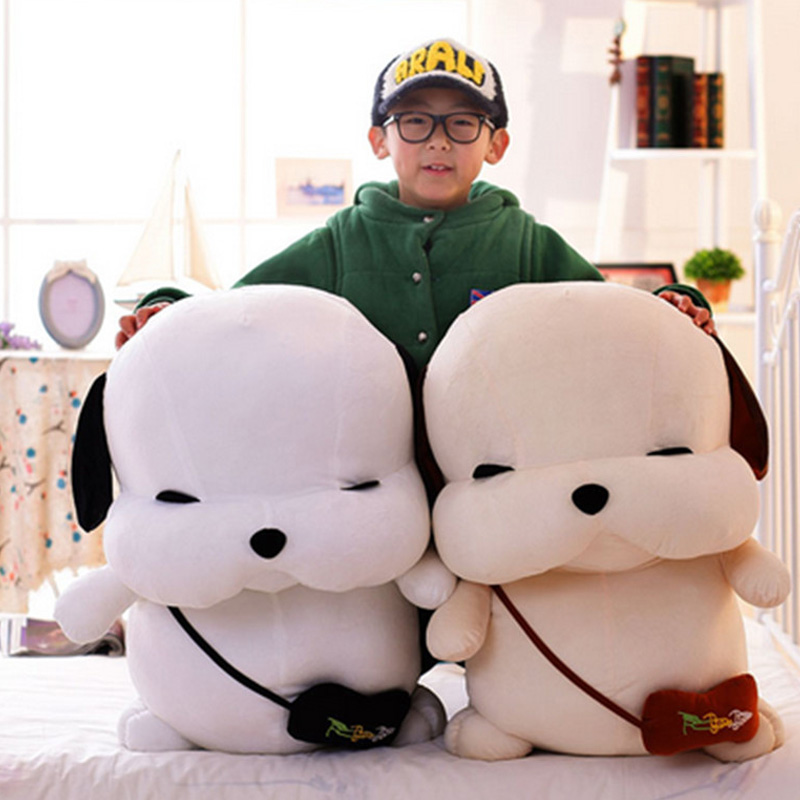 Fancytrader Plush Homeless Puppy Dogs Toy Large Soft Stuffed Animals Doll Best Kids Friends Dog 65cm fancytrader giant stuffed plush large dinosaurs rex toy gifts for kids soft cuddly animals doll 200cm 79inch