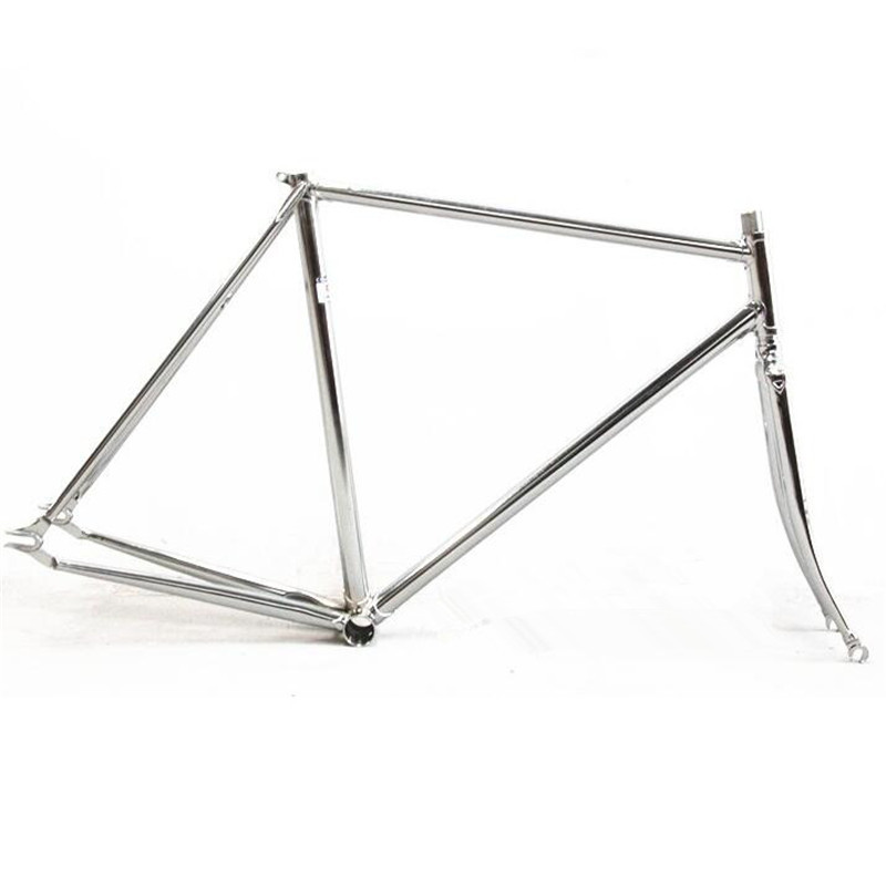 fixed gear frame bicicleta fork columbus cromor chromoly lug pursuit track bike frameset velo pursuit frameset custom made fixie