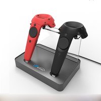 Controller Wireless Magnetic Adsorption Charging Double Charging Station For HTC VIVE VR Controller Double Handle Charging