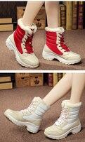 jintoho/большой размеры зимние женские зимние ботинки модная зимняя женская обувь осень, для женщин ботинки до середины икры ботинки на платформе 2017 женская обувь