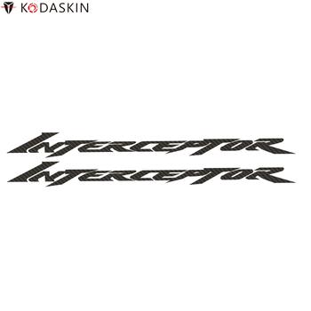 KODASKIN motocykl węglowy naklejki kalkomanie nadające się do Honda Interceptor VFR tanie i dobre opinie Naklejki i naklejki 21cm 1 9cm 0 01inch 0 1kg CN (pochodzenie) Sun Block Carbon Fiber
