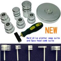HDD жесткий диск Открытие Ремонт Инструменты для восстановления данных 2,5 /3,5 жесткий диск platter swap suite + шт. 5 шт. головы гребень suite