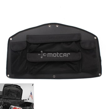 Motorcycle Trunk Storage Box Lid Organizer Tool Rear Bag Case For Honda GoldWing GL1800 Models 2001-2017 16 15 14 13 12 11 10 09