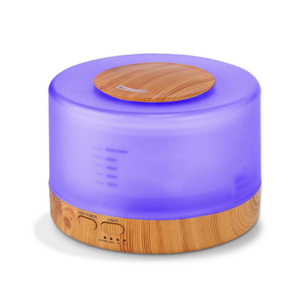 VVPEC 500ML Color Changing Ultrasonic Air Humidifier Aromatherapy Essential Oil Diffuser Electric Aroma Diffuser Mist MakeVVPEC 500ML Color Changing Ultrasonic Air Humidifier Aromatherapy Essential Oil Diffuser Electric Aroma Diffuser Mist Make