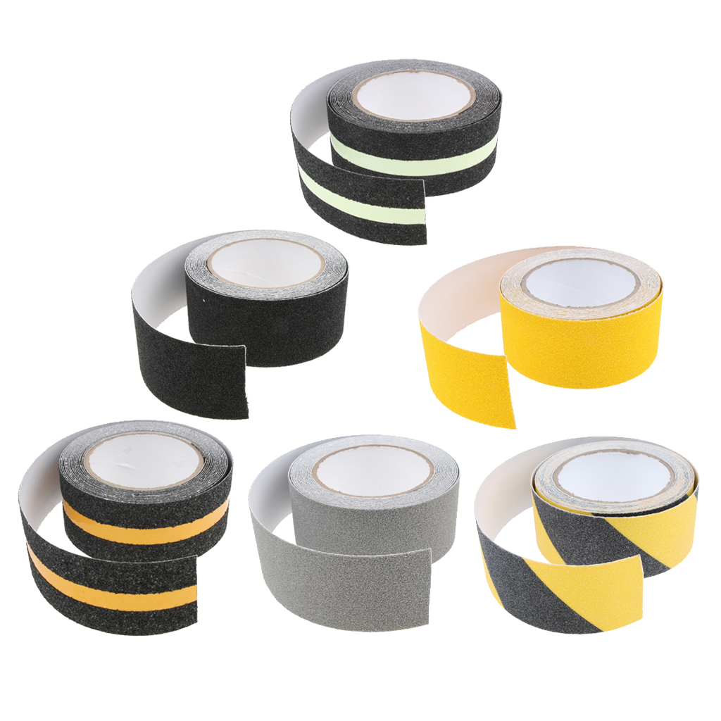 Abrasive Adhesive Tape Anti Slip Safety Tape Non Skid Stair Step Grip Boat Shower Strips Pad For Boat Yacht Walkways Ramps