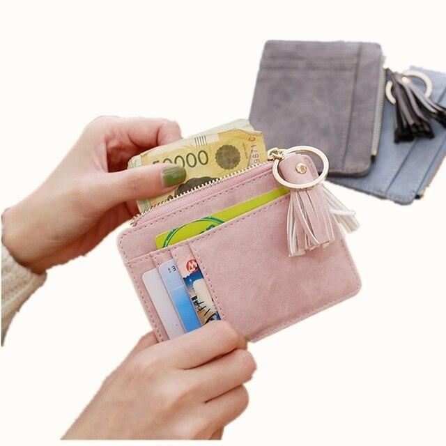 Porte Carte Bancaire En Cuir Pour Femme 4