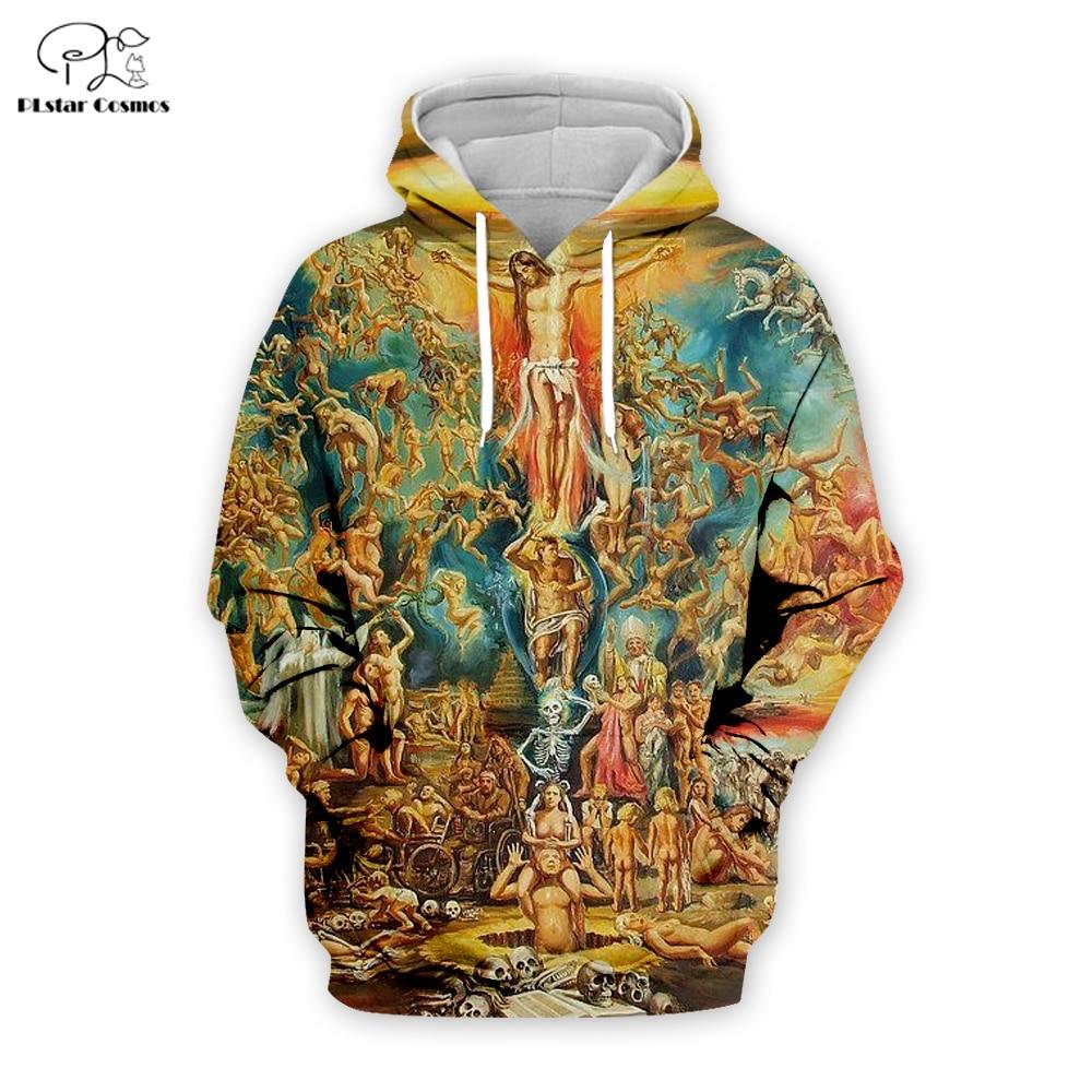 PLstar Cosmos Jesus/christianity/cross 3D Printed Hoodie/Sweatshirt/Jacket/ Mens Womens Hip Hop Apparel