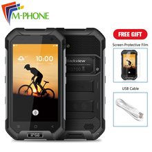 Original BLACKVIEW BV6000 Mobile Phone 4.7 inch 4G Android 6.0 MTK6755 Octa Core 3GB RAM 32GB ROM 13.0MP Waterproof Smartphone