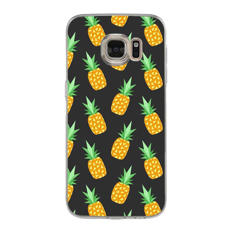Yinuoda marmuru owoce ananas nowy wysokiej jakości etui na telefon dla samsung galaxy S9 plus S7 krawędzi S6 krawędzi plus S5 S8 plus etui