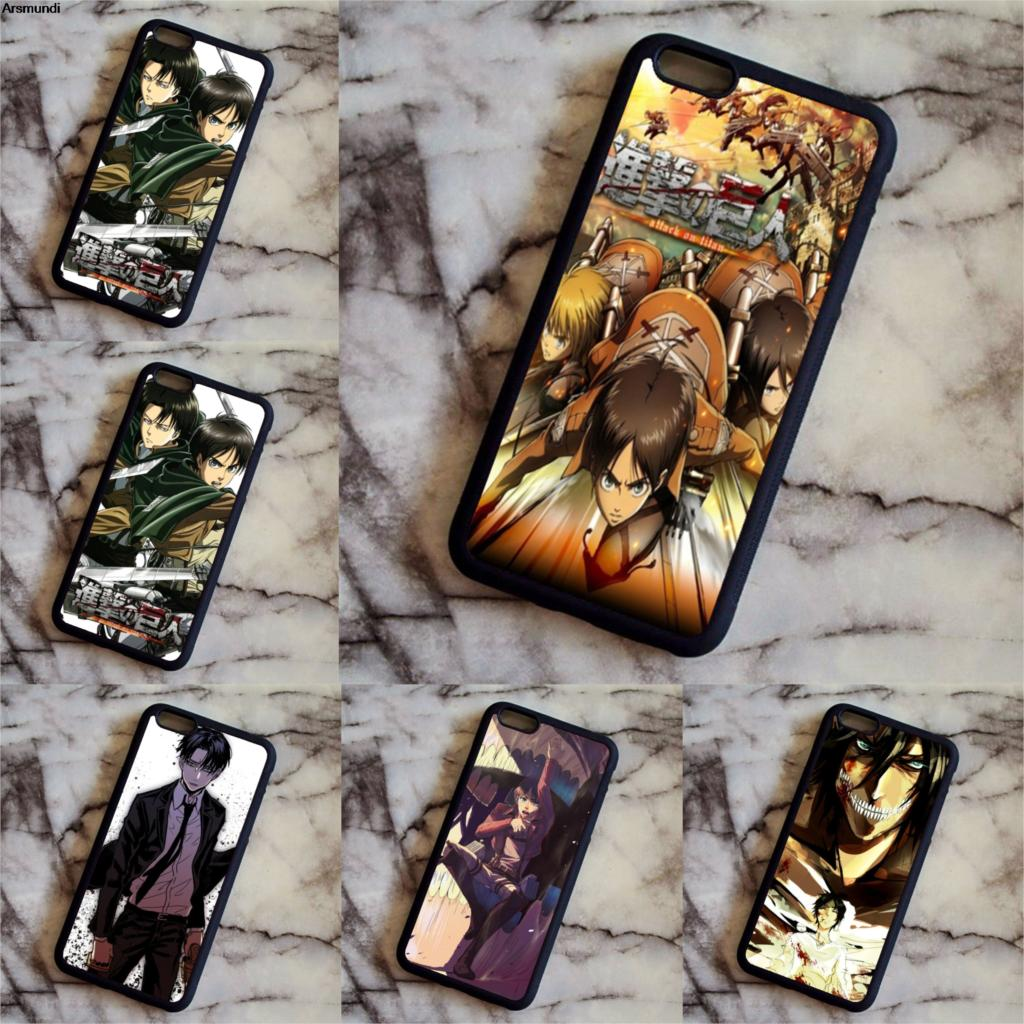 Arsmundi Attack on Titan Mikasa Phone Cases for Samsung S3 4 5 6 7 8 plus edge Note 2 3 4 5 7 8 Case Soft TPU Rubber Silicone