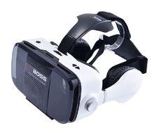 มาใหม่G Oogleกระดาษแข็งกลมแตกแยกแว่นตา3D VR BOSSเสมือนจริงสำหรับมาร์ทโฟน3Dแว่นตาZ5 VRBOSS VR BOSS 2