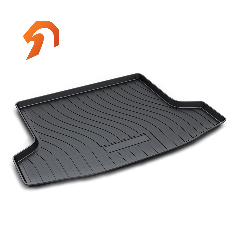 Rubber Rear Trunk Cover Cargo Liner Trunk Tray Floor Mats For Honda Honda JADE 5Seats 2015-2018 Carpet Liner Mats