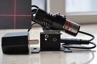650nm 40 ميجا واط وحدة الليزر الأحمر الصليب محدد مع حامل و ac محول-في تأثير إضاءة المسرح من مصابيح وإضاءات على