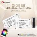 GLEDOPTO DC12-24V RGB + CCT/rgbw Zigbee smart LED streifen Controller Stimme steuer arbeit mit Echo plus smartThings ZIGBEE 3,0 HUB