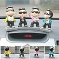 Estilo PSY carro balançando a cabeça da boneca boneca ornamentos interior do carro bonito criativo