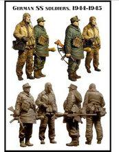 1/35 Scale German flag guard team grenadiers Figure Resin
