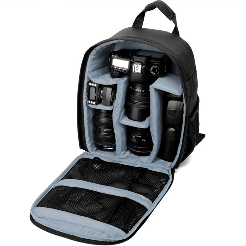 Sago Multi-Funktion DSLR Rucksack Kamera Video Tasche w/Regen Abdeckung SLR Stativ Fall PE Padded für Fotografen canon Nikon
