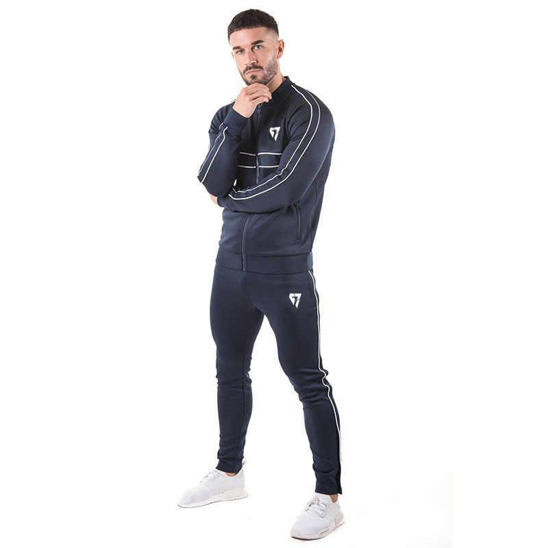 Gymohyah бренд спортивный костюм мужской костюм мужские толстовки наборы мужские спортивные костюмы Спортивная одежда для бега Мужской спортивный костюм наборы