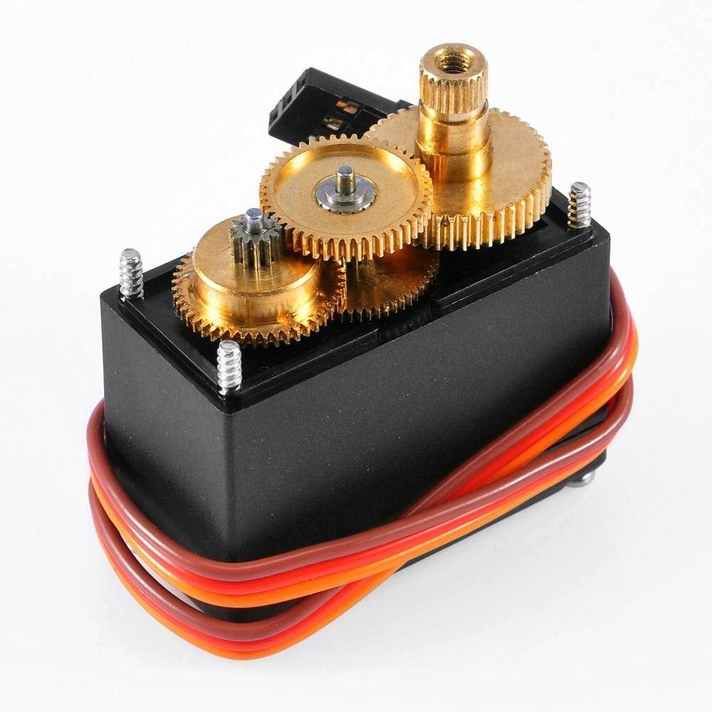 Mg995 mg996 mg945 mg946 servos de alta velocidade digital metal engrenagem servo motor 90 180 360 graus para rc carro robô arduino kit diy