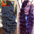 10A Human Hair U Part Wigs For Black Women Top Quality Long Wavy U Part Wig Brazilian Hair Custom Made Perruques Human Hair Wig
