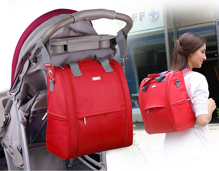 (insular) Large capacity nappy bags mummy backpacks fashion baby diaper bag stroller bag mommy maternity bag baby care large baby bag organizer diaper bag backpacks nappy stroller bags maternity for mommy women backpacks baby care page 5