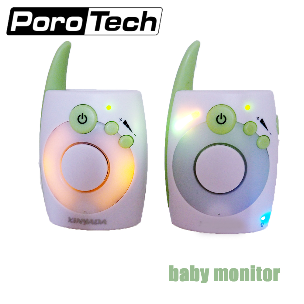 D1020 2.4Ghz Wireless Digital Baby Monitor Audio Radio Nanny Baby Monitor night light Kids Mini Walkie Talkie for baby cry d1020 portable walkie talkie bebe baby sound monitor handheld radio toy electronic babysitter baby monitor radios without wifi