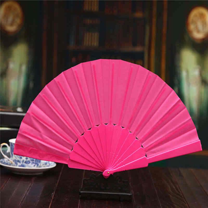 Узор в китайском стиле складной танец Свадебная вечеринка кружева свадебный веер Прохладный Бамбук Цветок Персонализированные 19feb19