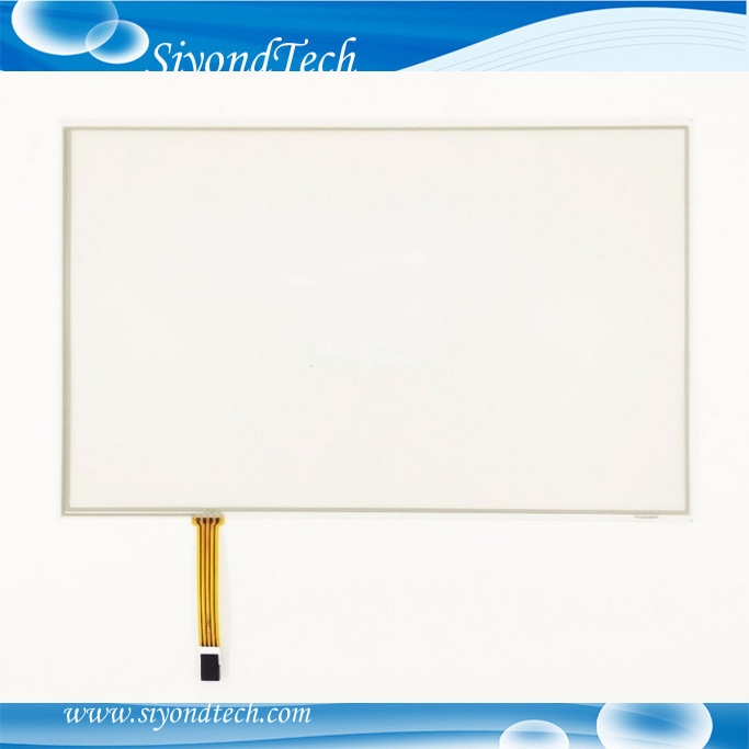 Free Shipping!!! 1PC 15.4inch 0.5MM Resistive Touch Screen 4Wire 344MM*222MM Digitizer +Controller