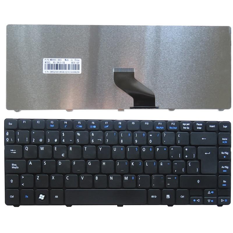 Španělská klávesnice pro notebook Acer Aspire 4743G 4349 4352 4560 4560G 4750 4750G 4750Z 4739 4752 4752G 4752Z 4752ZG SP