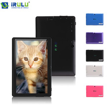 iRULU eXpro X1 7 » Tablet Android 4.4 Tablet Allwinner Quad Core 16GB ROM Dual Cameras Support WiFi OTG HOT Seller Multi Color