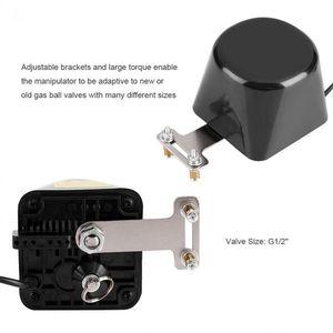 Image 2 - G1/2in Электрический автоматический манипулятор запорный клапан гидравлический клапан высокого давления для сигнализации газа водопровод безопасности Devic