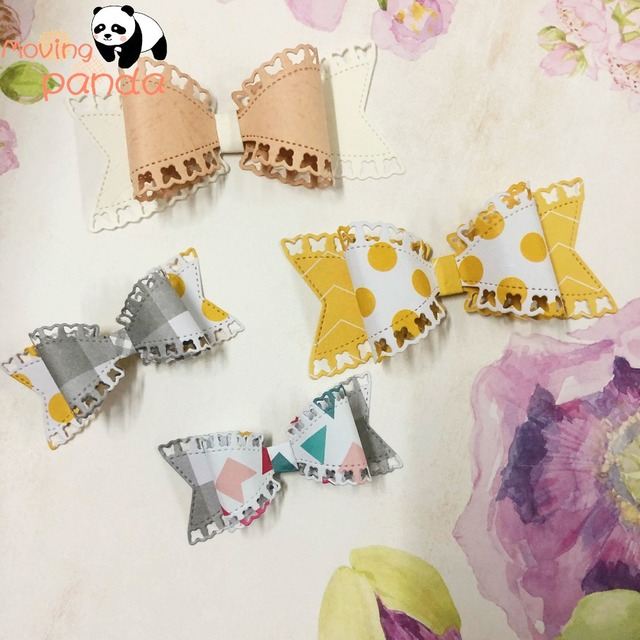 Butterfly bow Metal Cutting Dies Stencils For DIY Scrapbooking Embossing Paper Knife Mould Die Cuts Photo Album