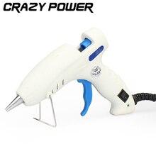 CRAZY POWER 30W Professional High Temp Electrical Mini Heater Hot Glue Gun Repair Heat Tool Tenwa Power Tools S-606