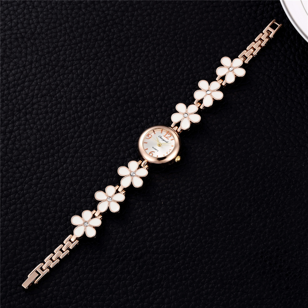 Fashion Design Small Rose Gold Jewelry Watches Women's Casua
