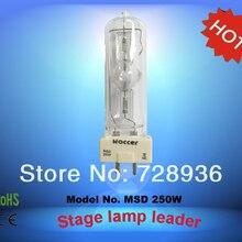 ROCCER MSD 250 Вт GY9.5 msd250 лампы металлогалогенные лампы 250 Вт stage light 250 Лампа msd 6000 К msd250
