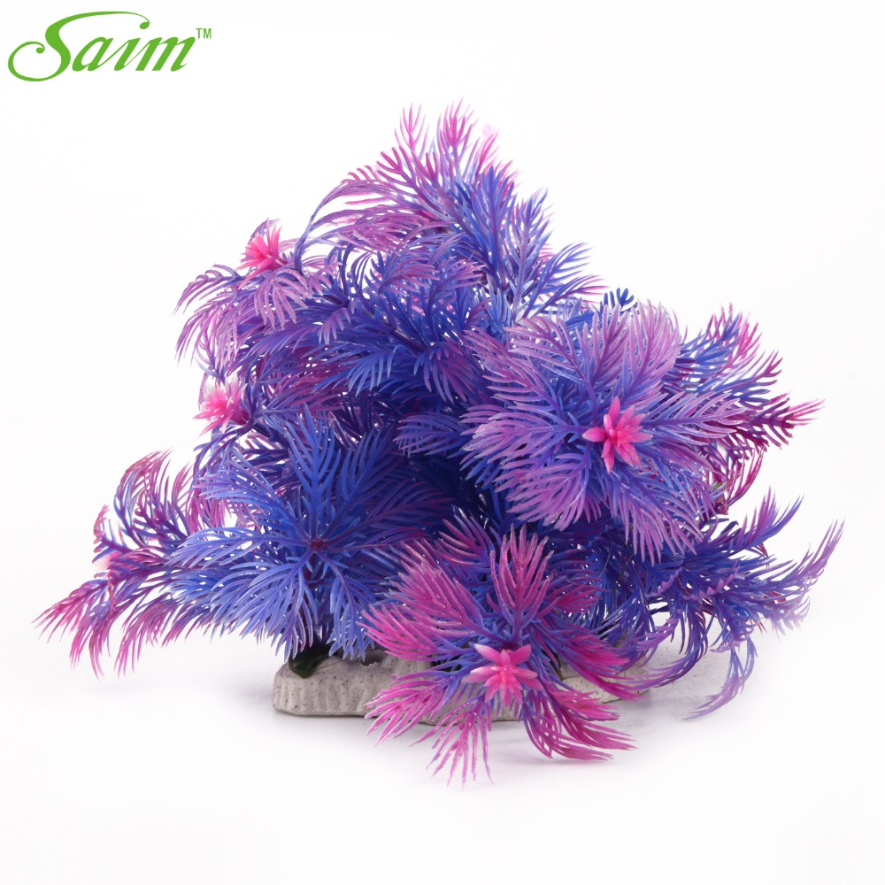 compare prices on aquarium decorations purple- online shopping/buy