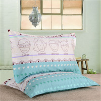 New quality cotton pillowcase with two pillowcases size 48 * 74cm
