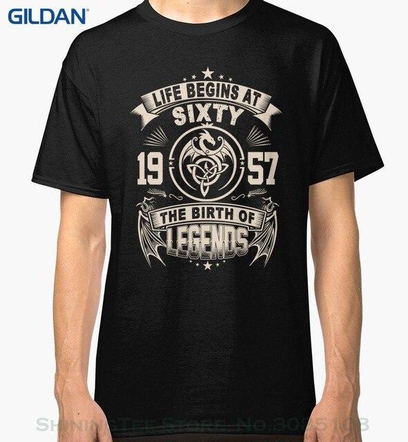 T Shirt Men Summer Casual 60th Birthday Gifts