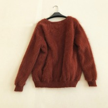 Natural Mink Cashmere Cardigan