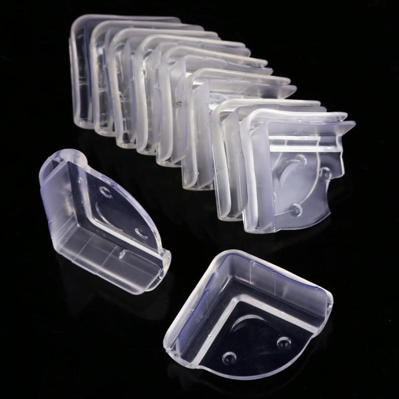 10Pcs/lot Baby Safety Corners Guards Edge Transparent Table Corner Protection  Anti-Collision Desk Corner Cover Child Baby Care