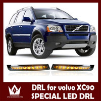 Night Lord 32led Cree Chip For Volvo XC90 ABS 2007 2013 LED DRL Daytime Running Light