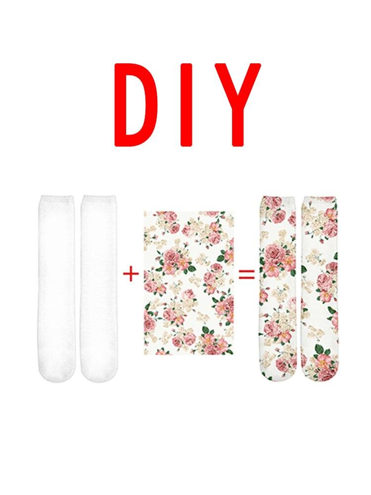 Hot Sale 3D Print DIY Custom Design Men/Women Socks Casual Sock Drop Shipping Wholesalers Funny 3D Socks Clothings