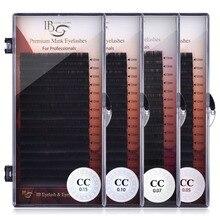 I Beauty Lashes 8mm 16mm Individual Eyelash Extension ib Premium Real Mink Eyelashes CC curl Volume Lashes ibeauty Eyelash Glue