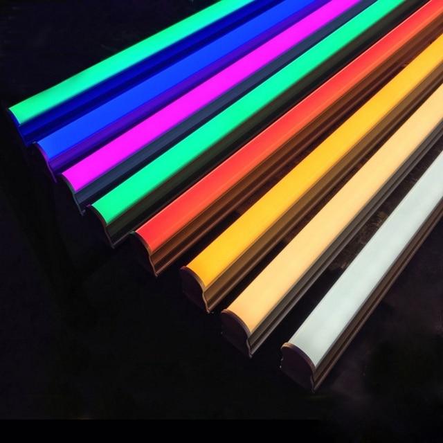 2835SMD T5/T8 Integrierte Led Farbe Rohr 0,3 m/0,6 m Led Rot, Grün, Blau, rosa, Lila Rohr Für Frische Lebensmittel AC100-265V