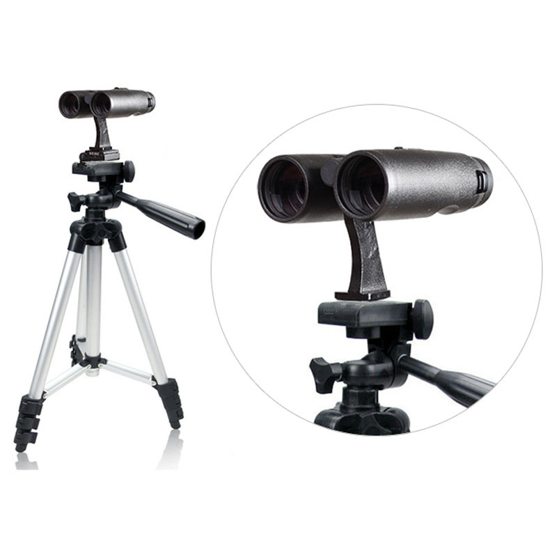 Foldable Binocular Telescope Tripod Holder Stand Protable Camera Tripod With Telescope Tripod Interface Telescope Accessories